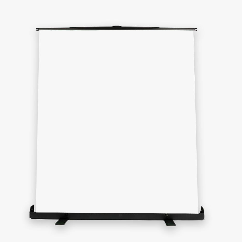'Vlogger Master' Pull Up White Backdrop for Photography (148cm x 210cm)