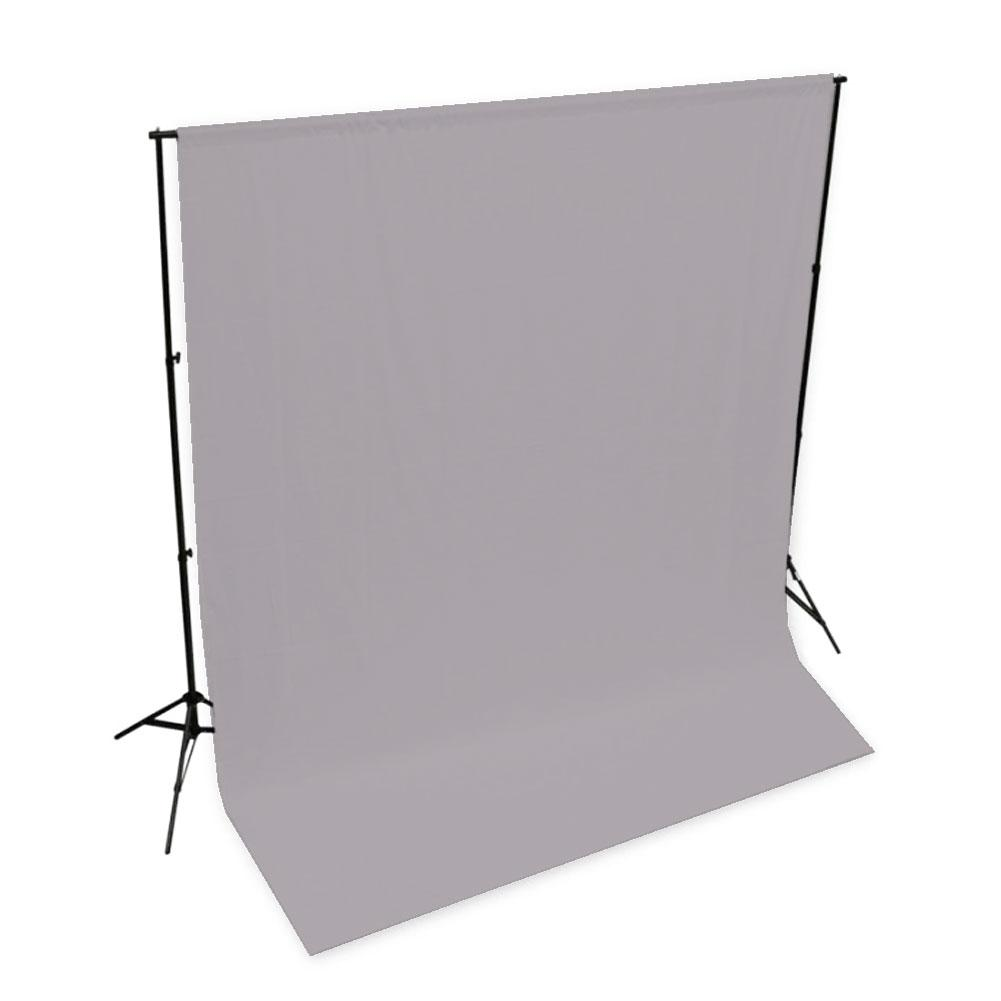Spectrum 'Pastel Palette' Muslin Backdrop 3M x 6M - Clean Slate Grey