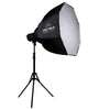 DUO 'S-Beam 150' LED Softbox Advanced Fashion Lookbook Lighting Kit - Spectrum-PRO