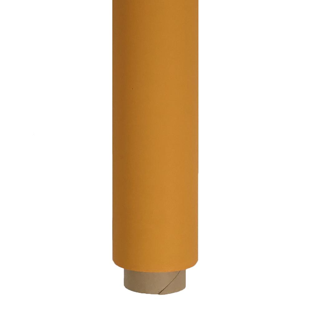 Spectrum Non-Reflective Half Paper Roll Backdrop (1.36 x 10M) - Tangerine Dream Orange