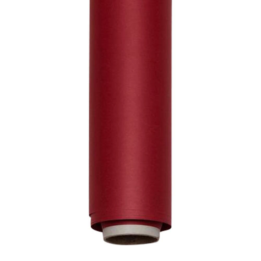 Wine and Dine Red Paper Roll Photography Studio Backdrop Half Length (1.36 x 10M)