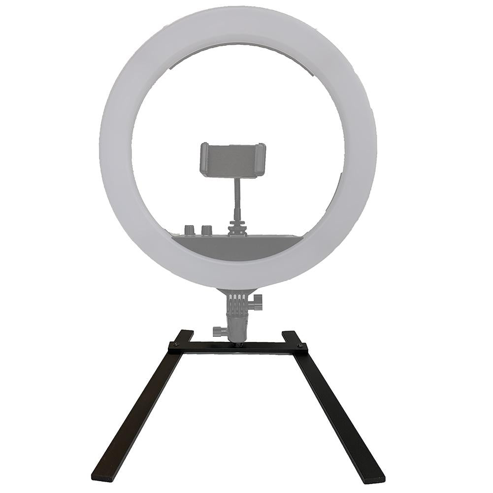 "Spectrum ""Archie""  Ring Light Desk Stand (Compatible with the Mini Pearl)"