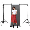 Grey 'Fotodrop' Synthetic Non-Woven Portrait Background 0.91m x 2.75m (Pegs and Backdrop Stand not included)