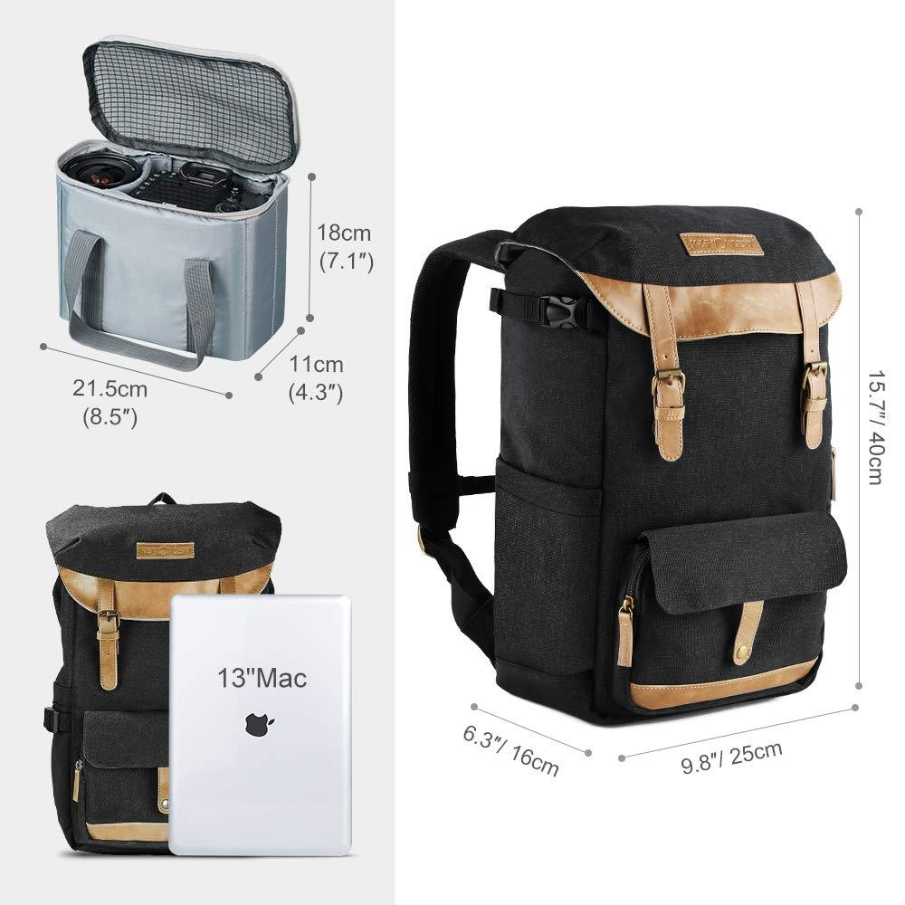 Travel Multi-Function Camera Backpack 'Komorebi'