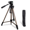 Professional 1.4m Tripod with 3 Way Pan Head and Carry Case
