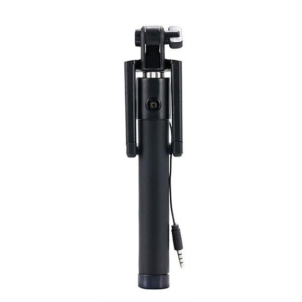 Universal Extendable Selfie Stick Monopod Tripod for Android/ iPhone (Black)