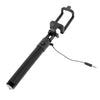 Black Extendable 2x Selfie Stick (Android/ iPhone) - Bestie Bundle