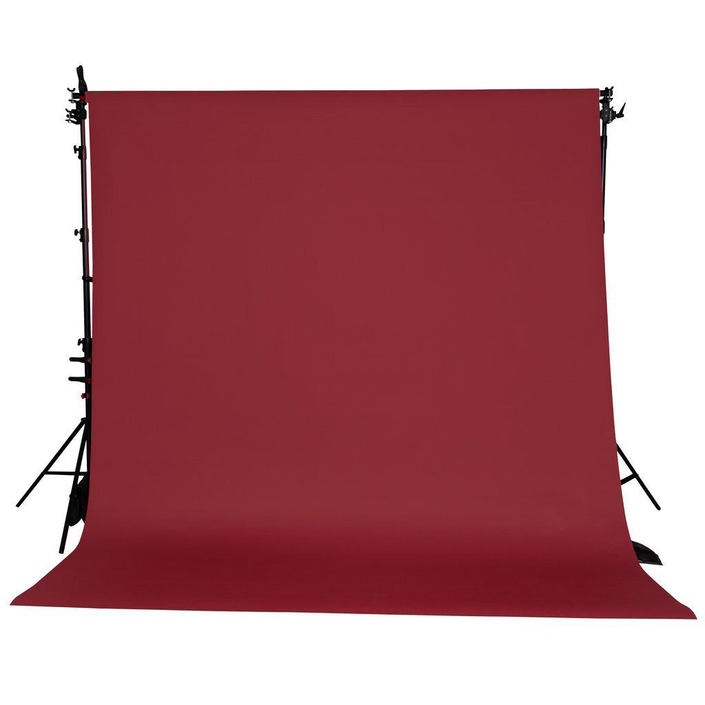 Spectrum Non-Reflective Paper Roll Backdrop (2.7 x 10M) - Wine and Dine Red