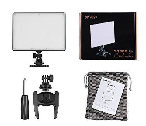 Yongnuo YN300 Air Double Colour Adjustable Professional Video LED Light Kit