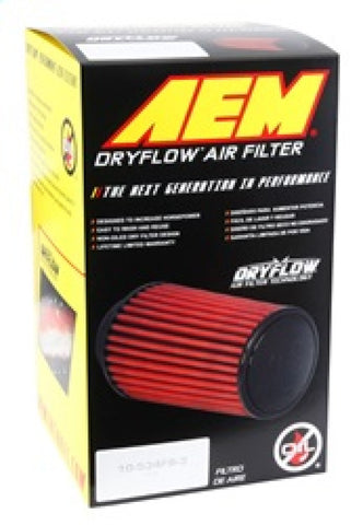 AEM 2.75 inch Dryflow Air Filter with 9 inch Element - 21-2029DK