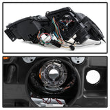 Spyder Lexus GS 300 / 350 / 450 06-11 Headlights - HID Model Only - Smoke PRO-YD-LG06-HID-DRL-SM - 5082817