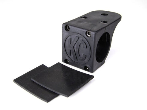 KC HiLiTES Universal Tube Clamp Light Mount Bracket / 1.75in. to 2in. Bar (Single) - 7307