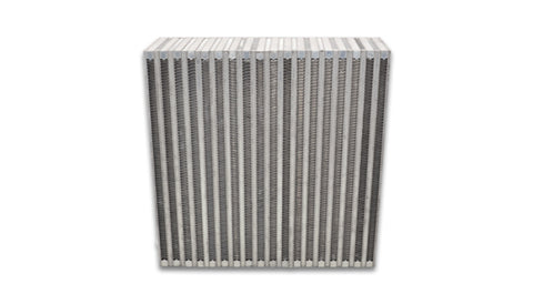 Vibrant Vertical Flow Intercooler Core 12in. W x 12in. H x 3.5in. Thick - 12850
