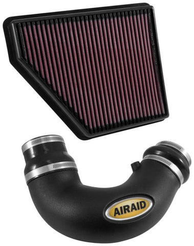 Airaid 2010-2014 Chevy Camaro SS 6.2L V8 F/I Airaid Jr Intake Kit - Oiled / Red Media - 250-714