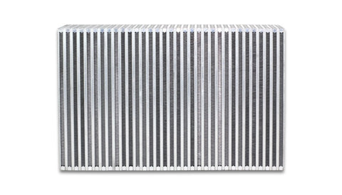 Vibrant Vertical Flow Intercooler 18in. W x 6in. H x 3.5in. Thick - 12855