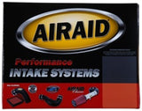 Airaid 2010-2015 Chevy Camaro V6-3.6L F/I Airaid Jr Intake Kit - Oiled / Red Media - 251-715