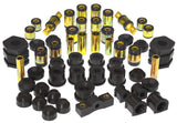 Prothane 99-00 Honda Civic Total Kit - Black - 8-2015-BL