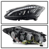 Spyder Mercedes W221 S Class 07-09 Headlights - HID Model Only - Black PRO-YD-MBW22107-HID-DRL-BK - 5083890