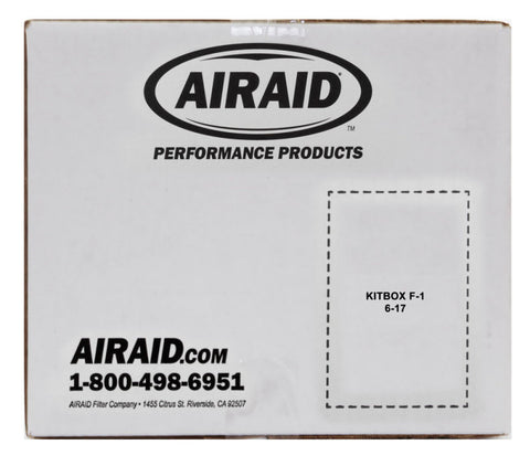 Airaid 2015-2016 Ford Mustang L4-2.3L F/I Airaid Jr Intake Kit - Oiled / Red Media - 451-730