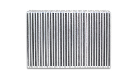 Vibrant Vertical Flow Intercooler Core 12in. W x 8in. H x 3.5in. Thick - 12857