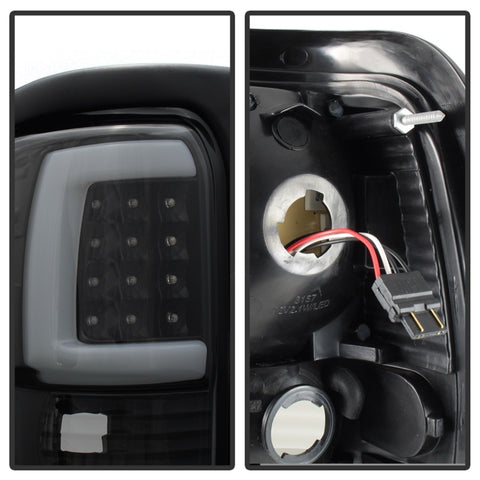 xTune Dodge Ram 1500 94-01 Tail Lights - Light Bar LED - Black ALT-ON-DRAM94V3-LBLED-BK - 9038860