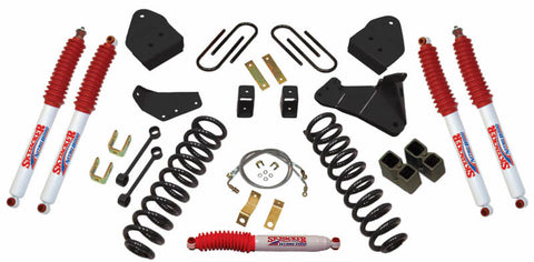Skyjacker 2005-2007 Ford F-250 Super Duty Suspension Lift Kit w/ Shock - F5451PN