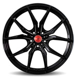 Gram Lights 57FXX 18x7.5 +50 5-100 - Black Machining Wheel - WGFXT50DBM