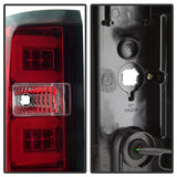 Spyder Chevy Silverado 2016-2017 Light Bar LED Tail Lights - Red Clear ALT-YD-CS16-LED-RC - 5083753