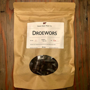 Traditional Droewors - 16 oz.