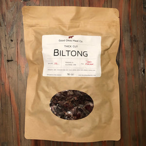 Traditional Sliced Biltong - 16 oz