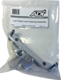 Precision Aluminum Bell Crank Steering Assembly for Losi 5T 1.0 / 5B ADI (10069)