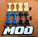 Brass / 7075-T6 Alum 5-IN-1 MOD AE 6.1 series Arm Inserts