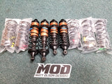 #19600 - V4 MOD 32mm Big Bore Bypass1 Shock Kit Gun Metal Gold Edition Losi 5B / 5T 2.0 / 1.0