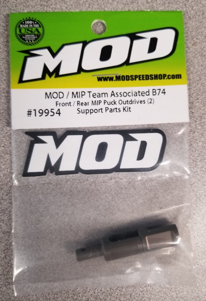 Front / Rear Puck Outdrives - MOD / MIP Team Associated B74.1 #19954