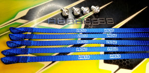 MOD / MIP Limit Strap Set Losi 5T 1.0 / 2.0 / 5B Cobalt Blue #28101
