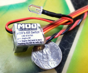 MOD 5th Scale Gas Racing Kill Switch (NO AUX)