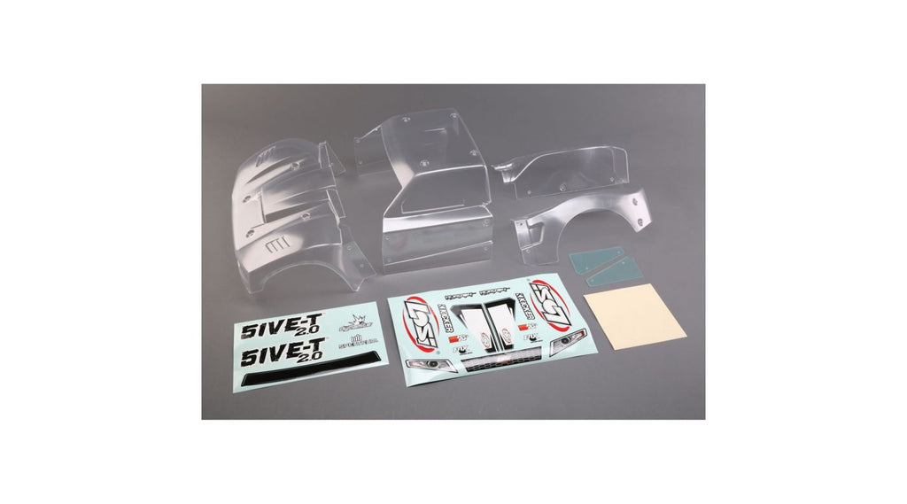 Complete Body Set, Clear: 5ive-T 1.0 / 2.0 (LOS350006)