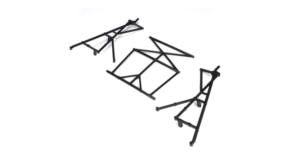 Rear Top & Side Cage Set: 5IVE-T 1.0 / 2.0 (LOSB2579)