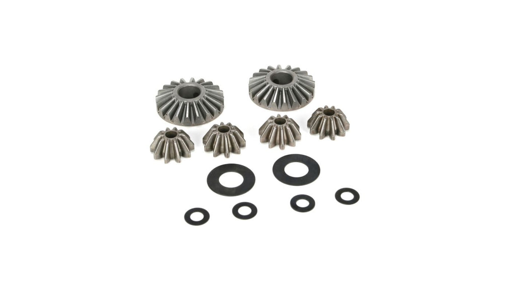 Internal Differential Gears & Shims (6): 5IVE-T 1.0 / 2.0 , 5B (LOSB3202)