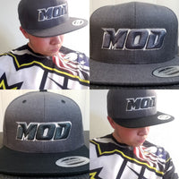 Snap Back Hat - Flat Bill - MOD - Choose Color