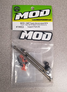 Front / Rear Bi-Metal Center Puck Bones w / Pucks - MOD / MIP Team Associated B74.1 #19953