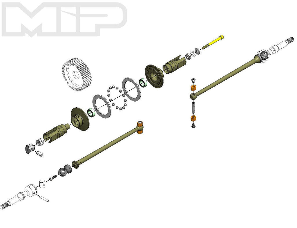 MIP Puck Kit AE SC6.1 / T6.1 #18270