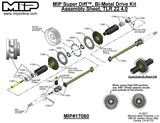 MIP Bi-Metal Super Diff™, 13.5 Drive Kit, TLR 22 5.0 / 4.0 #17060