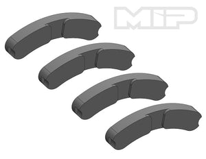 Break Pad Set, MIP Real Brakes, Losi 5ive-T (4) #14362