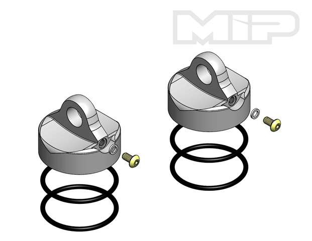 V2 Shock Cap (2),  32mm Big Bore Bypass1, Losi 5ive-T, 14373