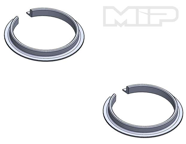 #19601 - V4 Spring Retainer (2) , 32mm Big Bore Bypass1, Losi 5ive-T 2.0/1.0