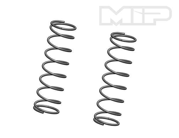 V2 Rear 10.0 lb Gray (2), Big Bore Shock Springs, Losi 5ive-T #14377