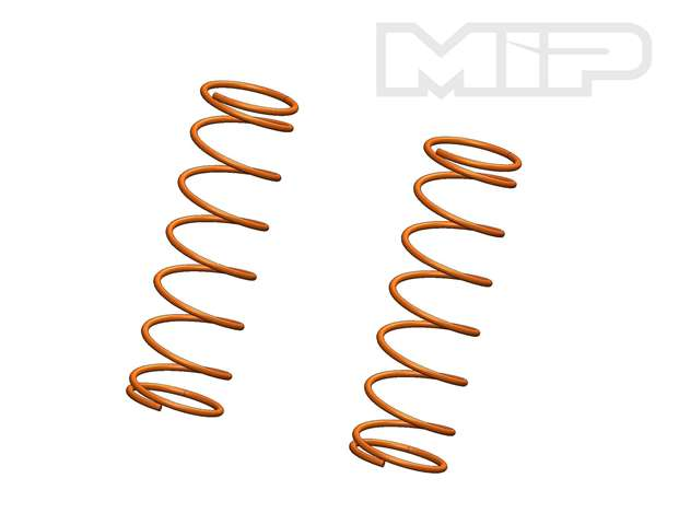 V2 Rear 12.0 lb Orange (2), Big Bore Shock Springs,  Losi 5ive-T #14378