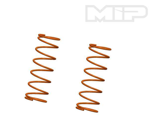 V2 Front 8.75 lb Orange (2), Big Bore Shock Springs, Losi 5ive-T #14380
