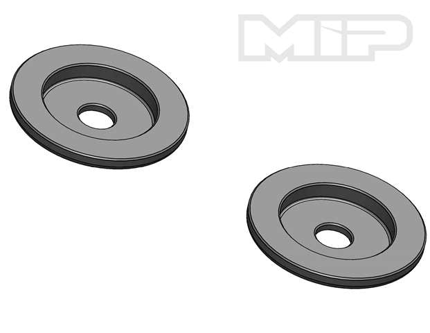 V2 Stop Washer (2), 32mm Big Bore Bypass1, Losi 5ive-T, 14382